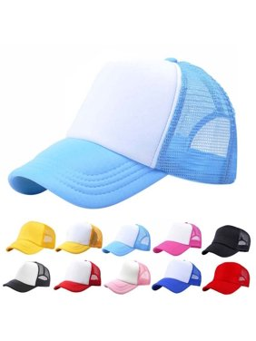 59289e505fd Product Image Kacakid Baby Toddler Boys Girls Sport Hat Child Peaked Baseball  Mesh Snapback Adjustable Cap 3-