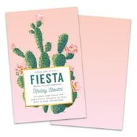 Personalized Fiesta Bridal Shower Invitations