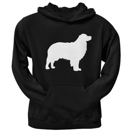 Australian Shepherd Silhouette Black Adult - Australian Shepherd Sweatshirt