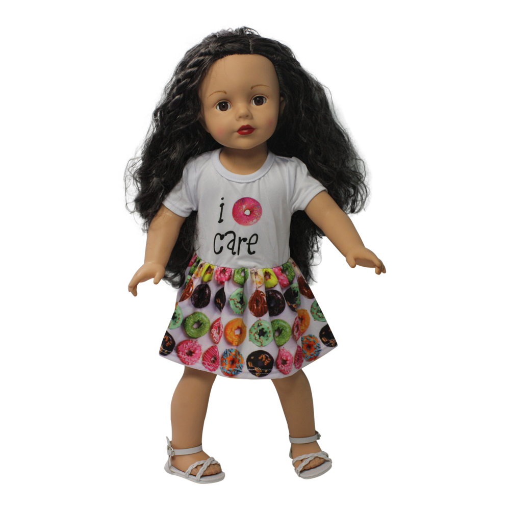 Dream Big Wholesale Doll Clothes Ari And Friends I Want Candy Dress