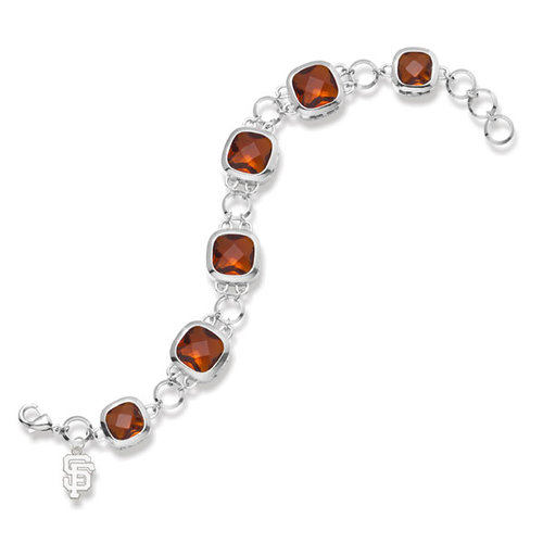 San Francisco Giants SAN FRANCISCO GIANTS CRYSTAL LEGEND BRACELET