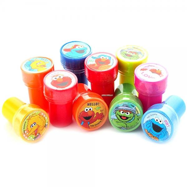 Elmo and Friends Stampers Party Favors (10 Stampers)