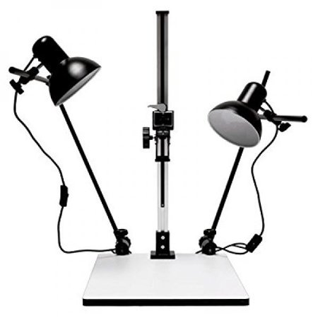 Albinar High Load 28 Copy Macro Stand with 15.75x19 Base, Quick Release Mount and