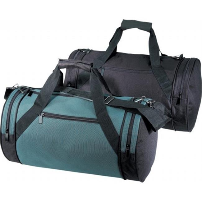 DDI 1923450 Deluxe Roll Bag, Forest Green-Black
