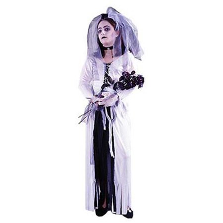 Child Skeleton Bride Costume FunWorld 8729