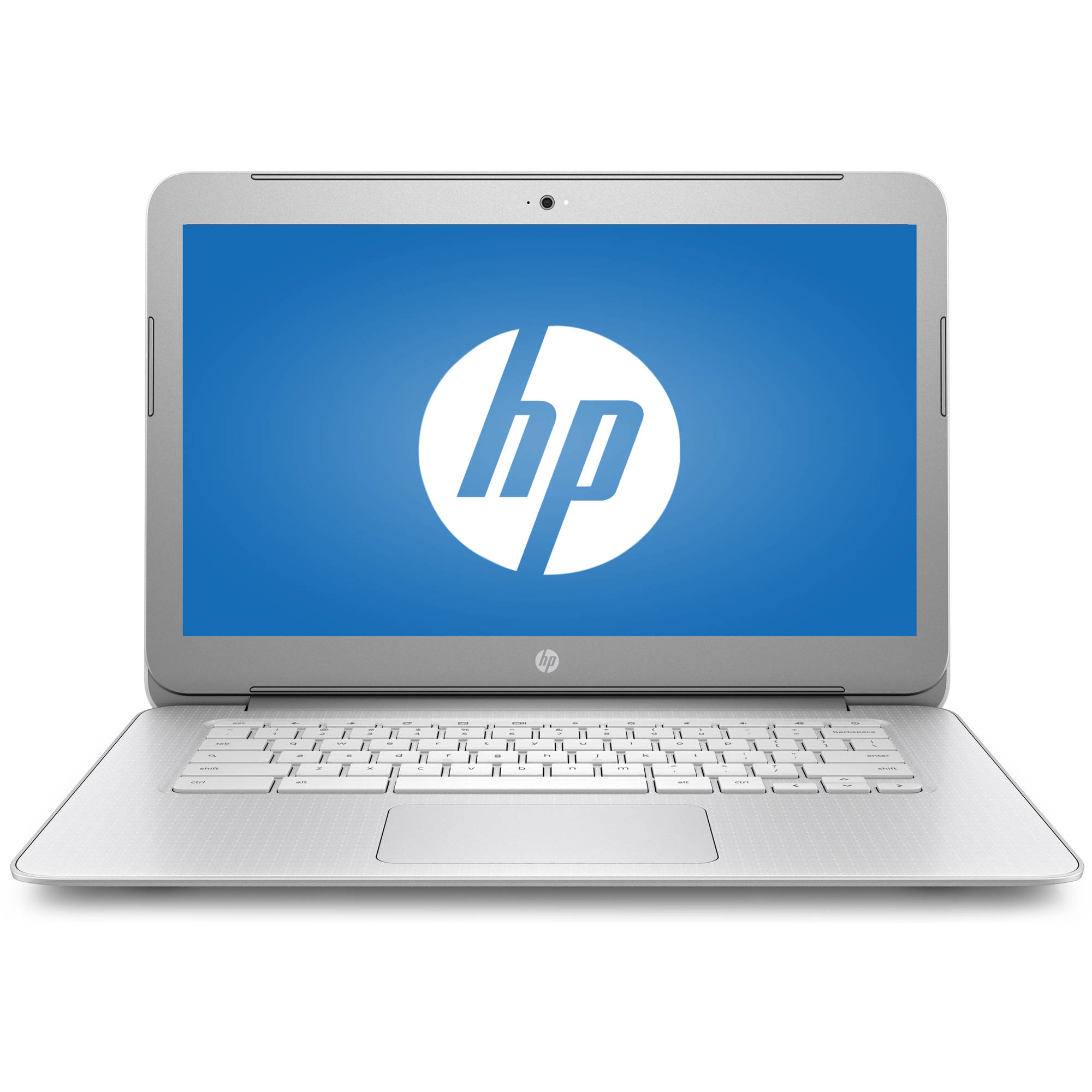 "HP 14-ak040wm 14"" Chromebook, Chrome, Full HD IPS Display, Intel Celeron N2940 Processor, 4GB RAM, 16GB eMMC Drive"