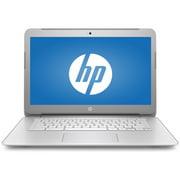 "HP Silver 14"" Chromebook 14-ak040wm Laptop PC with Intel Celeron N2940 Processor, 4GB RAM, & 16GB eMMC Drive"