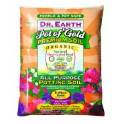 Dr. Earth Organic & Natural Pot of Gold All Purpose Potting Soil, 8 QT