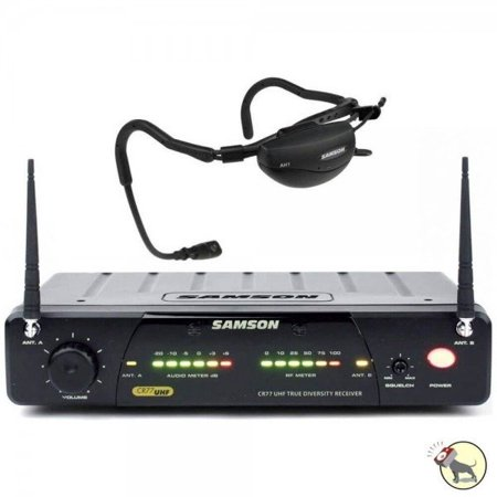 Samson Airline (Samson AirLine 77 Fitness Headset Wireless System with Headset Microphone Channel N5 SW7AVSCE-N5 )