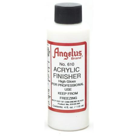ANGELUS LEATHER ARTICLES SHINY GLOSSY ACRYLIC FINISHER 5 TYPES 4OZ