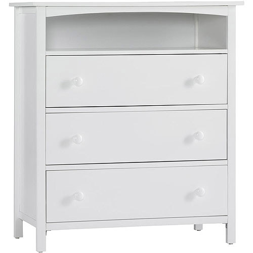 Graco Freeport 3-Drawer Dresser, Classic White