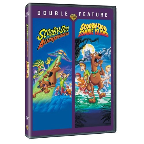 SCOOBY-DOO & THE ALIEN INVADERS/SCOOBY-DOO ON ZOMBIE ISLAND (DVD/DBFE)