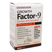 Best Growth Hormone Boosters - Novex Biotech - Growth Factor-9 Complex Hormone Antecedent Review