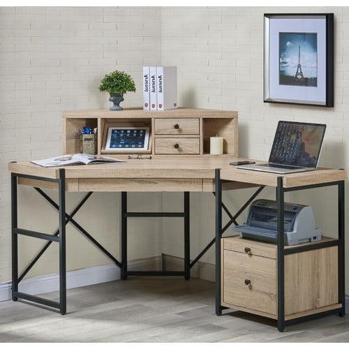 Turnkey Products Llc Hancock Corner Desk With Hutch