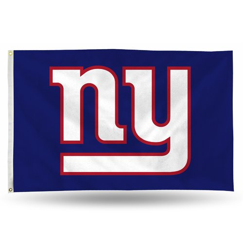 Rico Industries NFL 3' x 5' Banner Flag, New York Giants