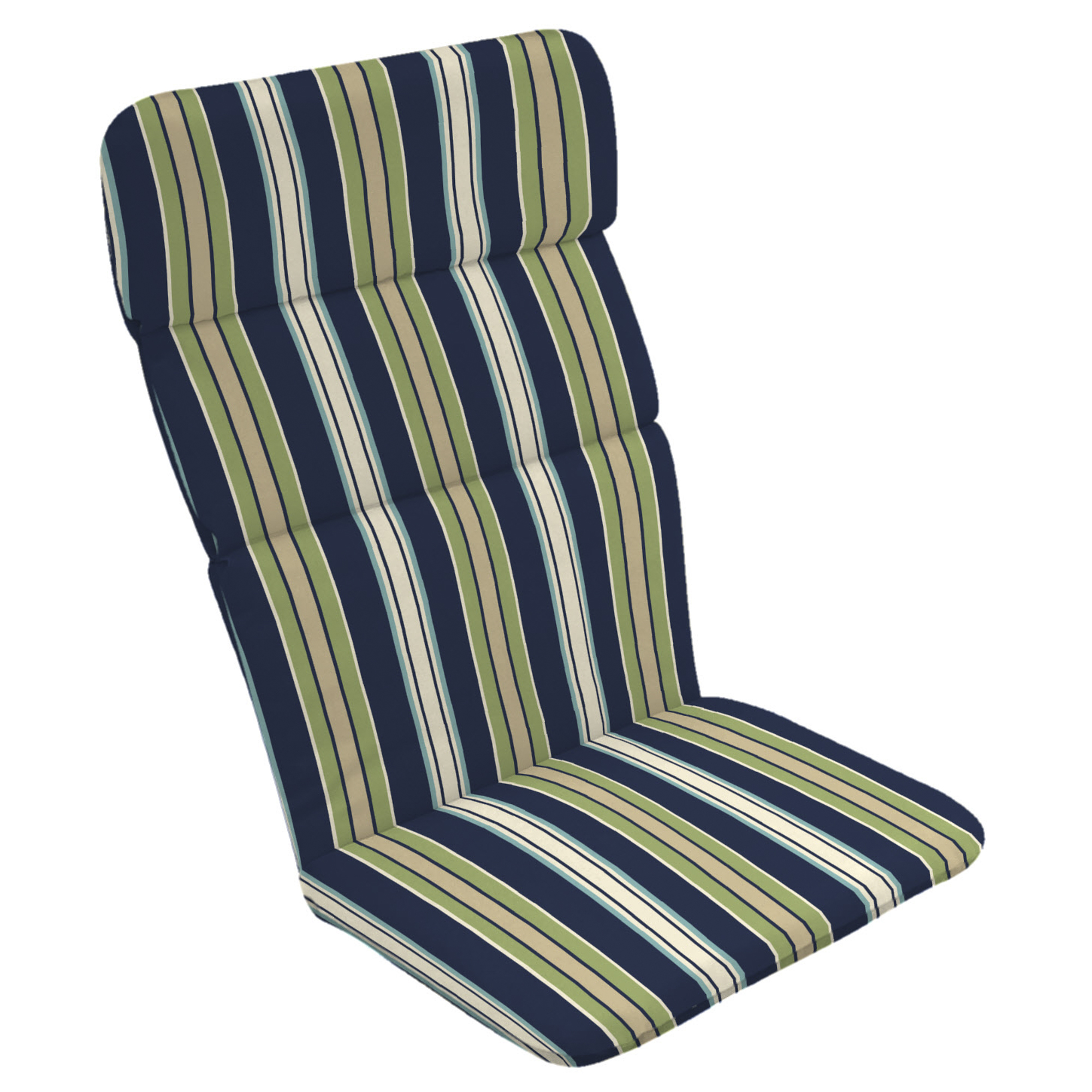 Genial Product Image Arden Selections Sapphire Clarissa Stripe Outdoor Adirondack Chair  Cushion