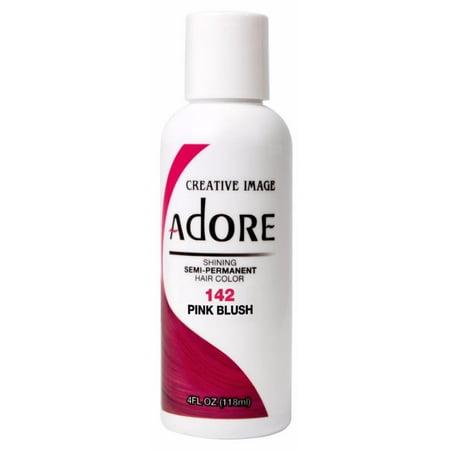 Adore Shining Semi Permanent Hair Color - 142 Pink (Pink Shiny)