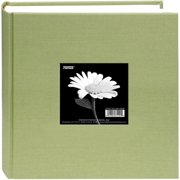 "Cloth Photo Album W/Frame 9""X9""-Sage Green"