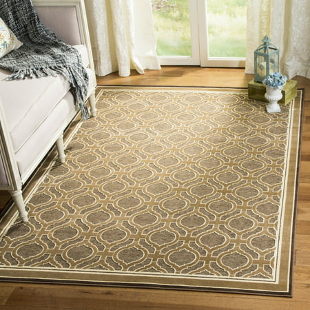 Martha Stewart Geometric Quatrefoil Bordered Area Rug - Martha Stewart Border