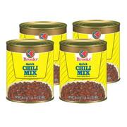 (4 Pack) Brooks Quick Chili Mix 30.5 Oz Can