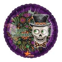 Halloween Top Hat Foil Balloon, 4PK