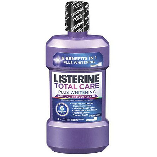 Listerine Total Care Plus Whitening, 32oz