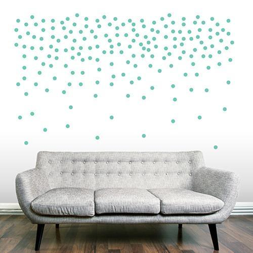 Sweetums 2-inch Confetti Dots Wall Decals (Set of 200)