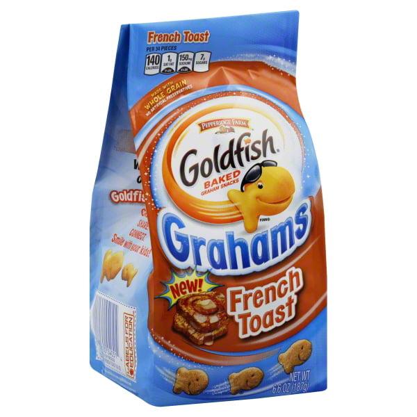 Pepperidge Farm Goldfish French Toast Baked Graham Snacks, 6.6 Oz.
