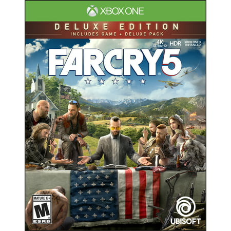Far Cry 5 Deluxe Edition, Ubisoft, Xbox One, 887256028992