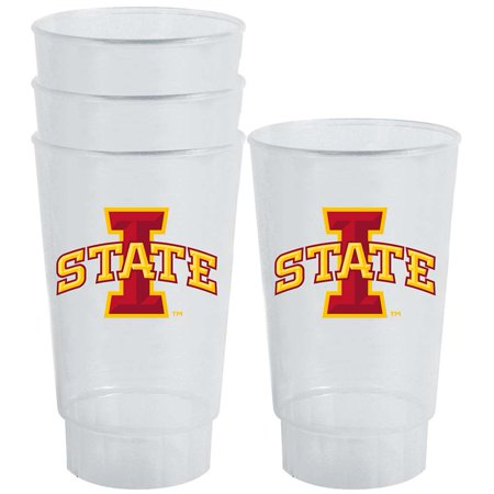 Iowa State Cyclones Plastic Tailgate Cups - Set of - Iowa Cyclones