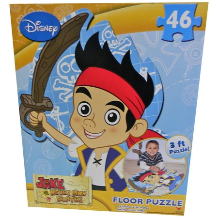 Jake and The Neverland Pirates Floor Puzzle](Jake Games)