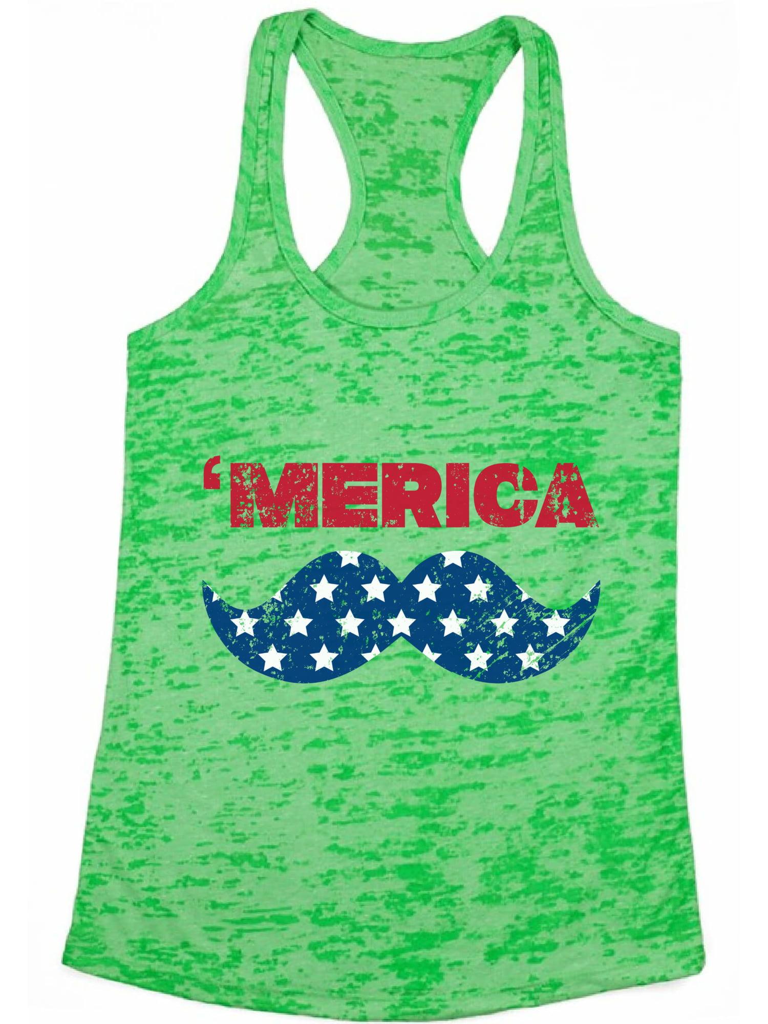 Tcombo Merica USA Flag 4th of July America Mens Sleeveless Shirt