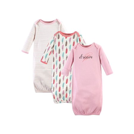 Touched by Nature Organic Gowns, 3pk (baby Girls)](Gowns For Kids)