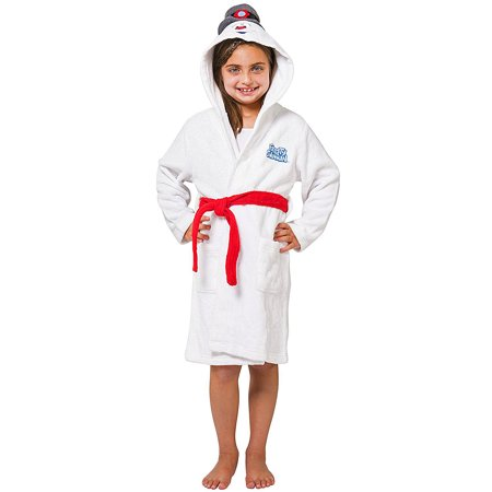 Kids' Frosty The Snowman Hooded Plush Robe