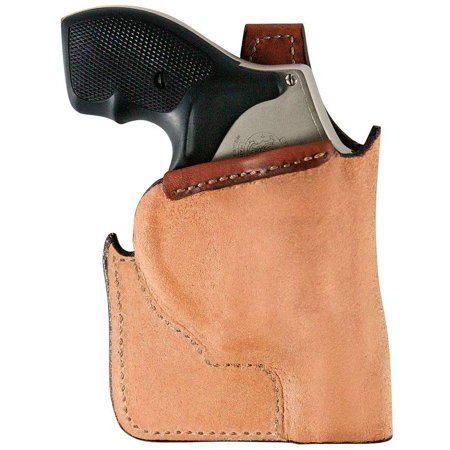 BIANCHI LCR RUGER POCKET TAN LEATHER (Ruger Lcr 357 With Laser For Sale)