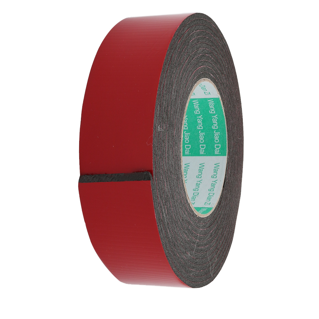 Unique Bargains Door Seal 50x3mm Dual-sided Adhesive Shockproof Sponge Foam Tape 4M Length