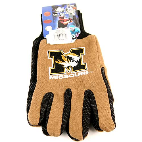 Missouri Tigers Team Color Utility Gloves by