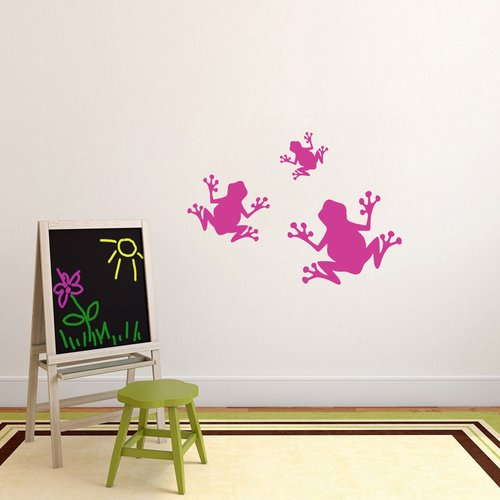 Sweetums Wall Decals 3 Piece Frogs Wall Decal Set