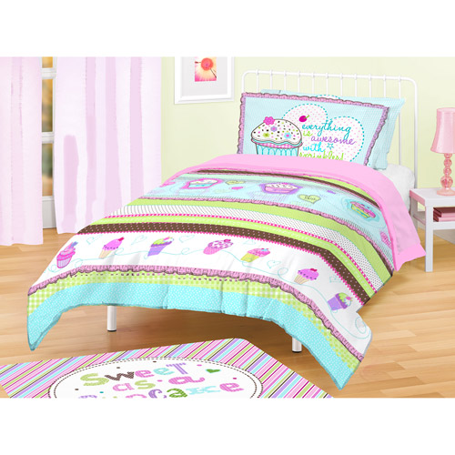 American Kids Cupcakes Bedding Comforter Set