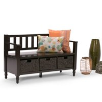 Simpli Home Dakota Entryway Storage Bench