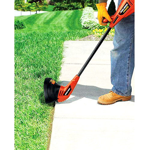 "Black & Decker 10"" 12V Cordless Electric String Trimmer"