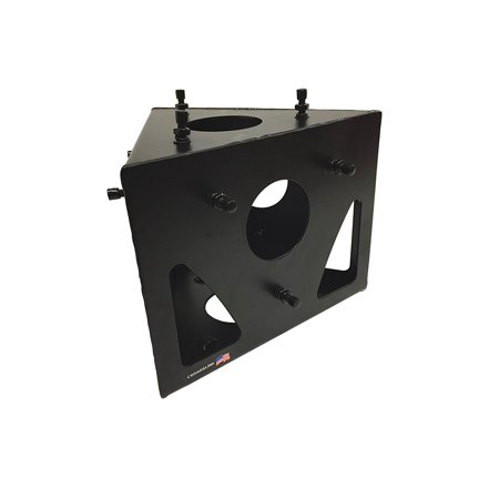 Cedarslink 5 Sided Triangle Truss Angle Black Metal DJ Lighting PA Trussing Bolted -