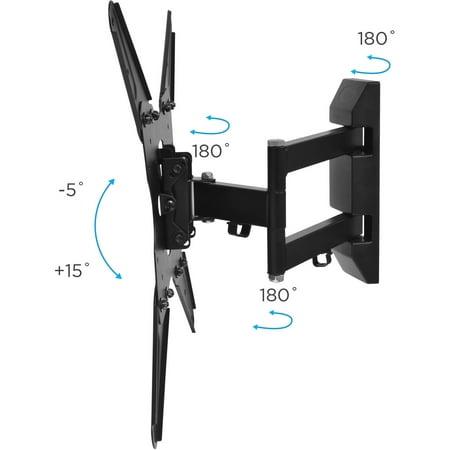 Ematic Full Motion Articulating Tilt Swivel Universal