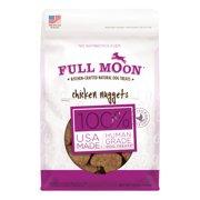 Full Moon All Natural Human Grade Dog Treats, Chicken Nuggets (Various Sizes)