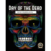 Adult Coloring Book with 50 Day of the Dead Sug: Adult Coloring Book (Day of the Dead): An adult coloring book with 50 day of the dead sugar skulls: 50 skulls to color with decorative elements (Paperb