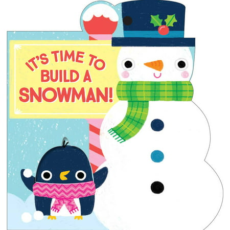 It's Time to Build a Snowman (Board Book)