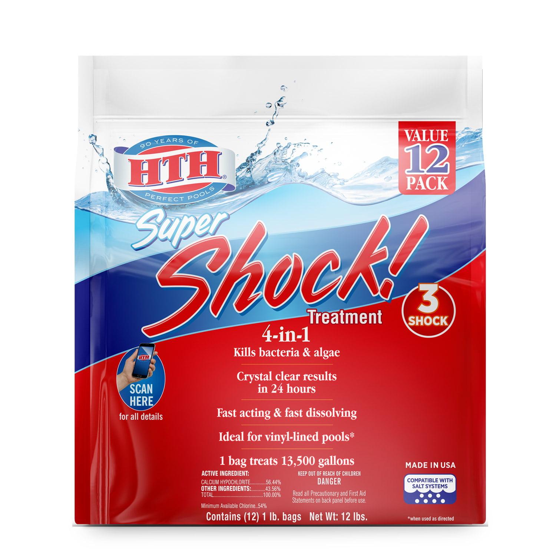 HTH Super Shock! Treatment 12 x 1lb