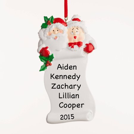 - Personalized Grandparents Ornament