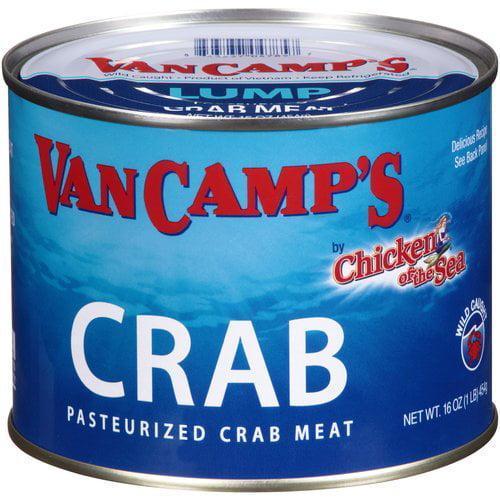 Van Camp's Crab Lump Crab Meat, 16 oz