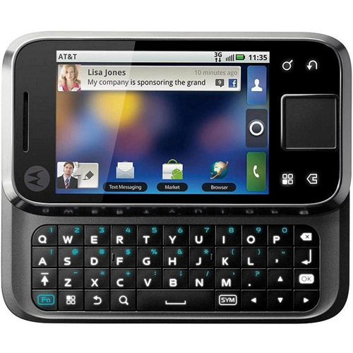 Motorola Flipside Mb508 Gsm Phone, Black